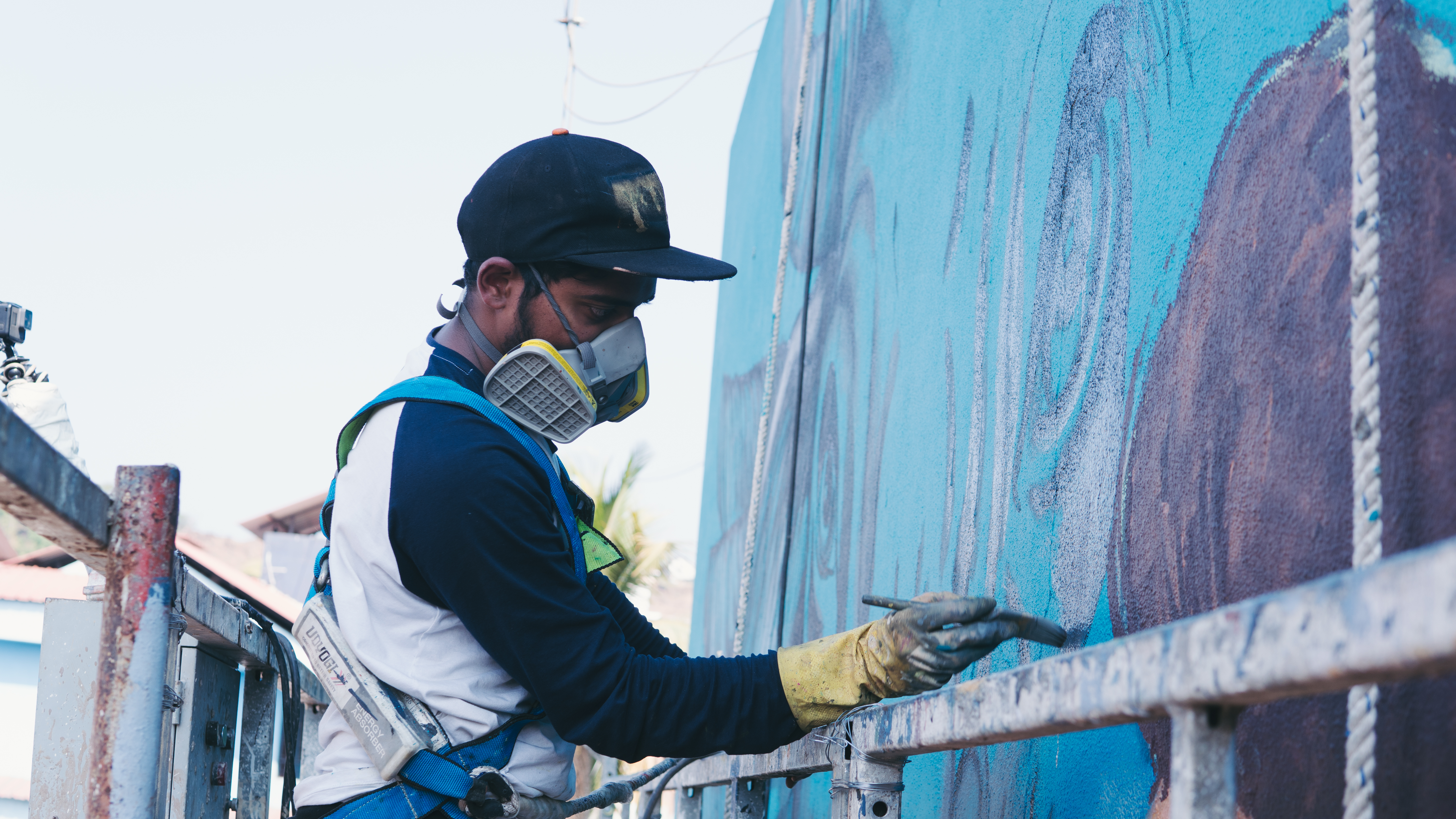 St Art Foundation Creates One Of Goa S Biggest Murals Depicting The